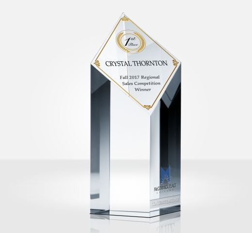 Sales Champion of the Year Award Trophy
