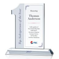 Top Sales Person of the Year Award Plaque