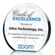 Circle of Excellence Award Trophy