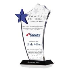 Customer Service Excellence Award Plaque