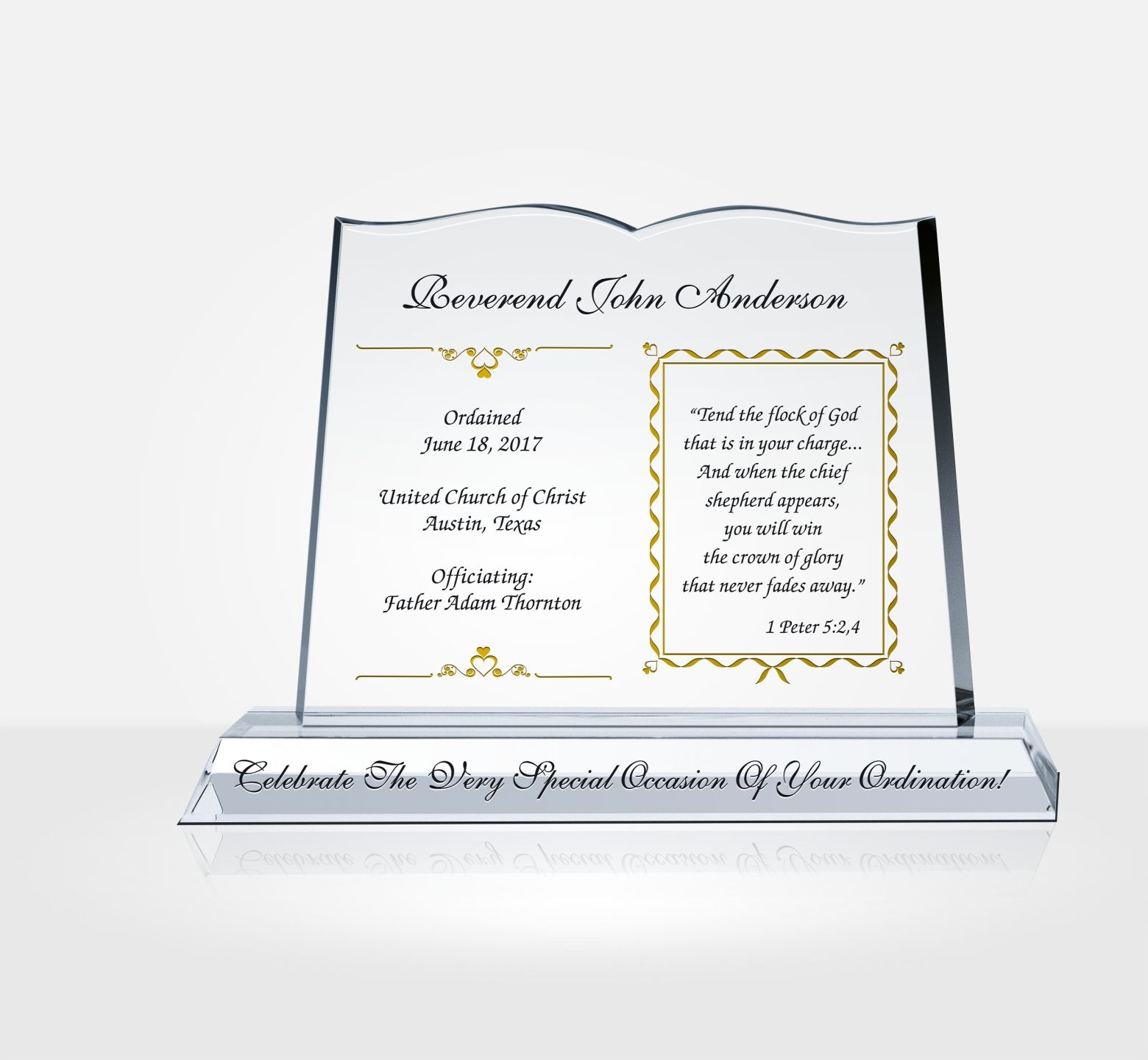 pastor ordination gifts  u0026 sample congratulation wordings