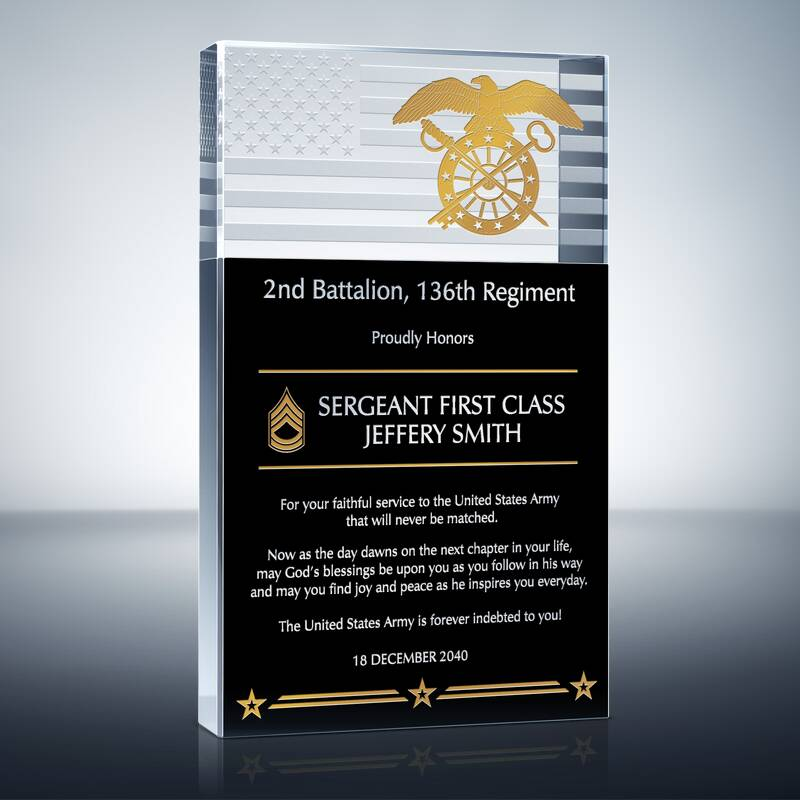 Army Service Recognition Award (#294-2)
