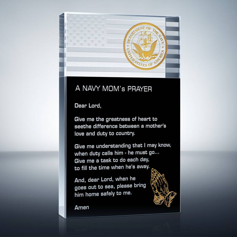 Navy Mom's Prayer (#327-4)