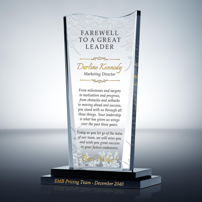 boss farewell gift wording 456 2 wording ideas diy awards