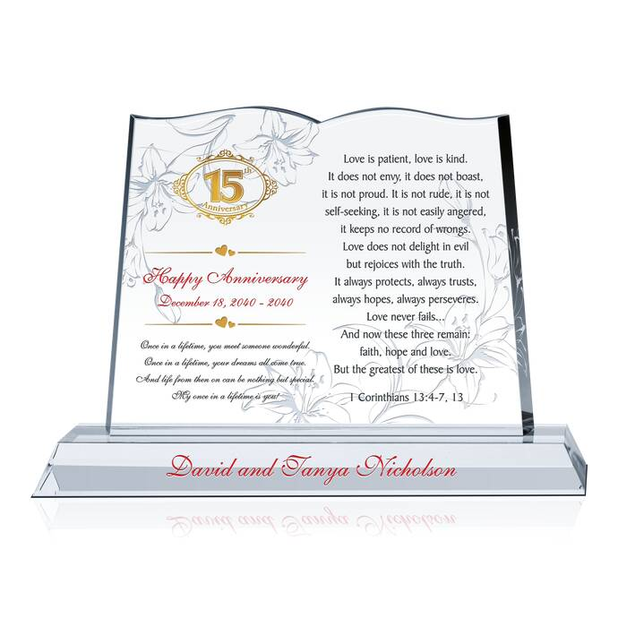 Anniversary gift for couple diy awards for Gift for anniversary for couple
