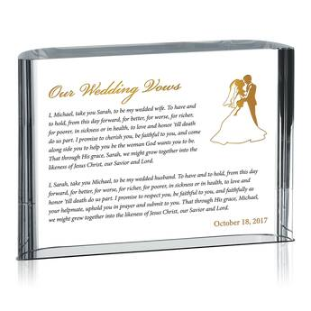Religious Wedding Vows Gift (#143-3)