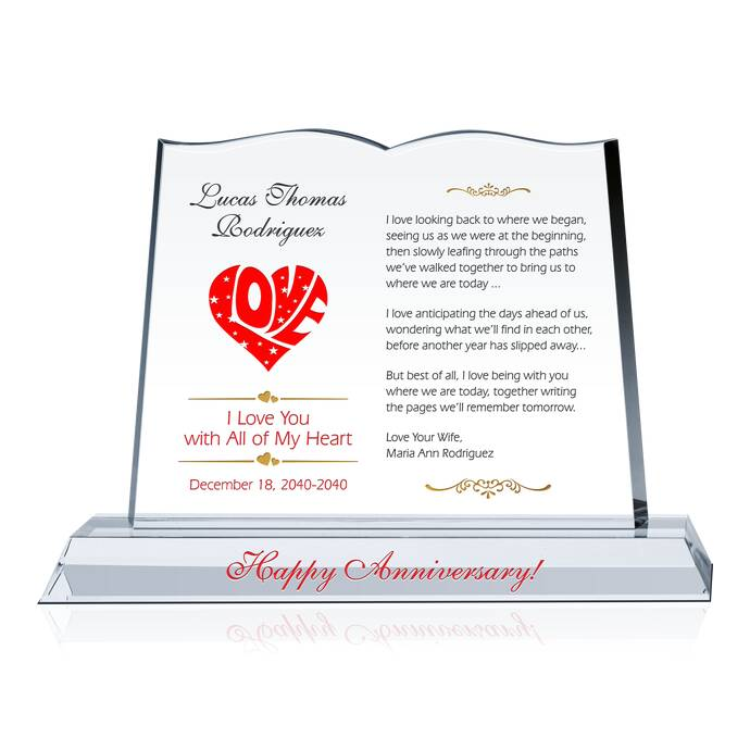 Diy Wedding Anniversary Gift For Husband : Anniversary Gift for Husband DIY Awards