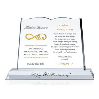 Infinite Love Wedding Anniversary Gift for Him (#144-3)