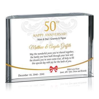 Home > Wedding Anniversary Gifts > 50th Anniversary Gift