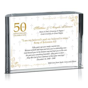 Sample Golden Anniversary Wording Ideas for Parents