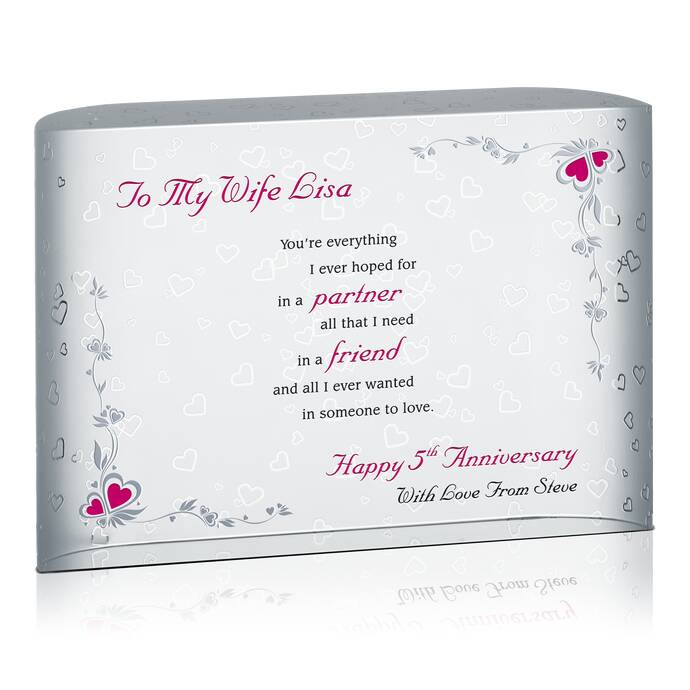 Anniversary Gift for Wife DIY Awards