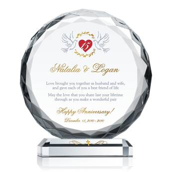 Christian Anniversary Gift Plaque (#162-2)