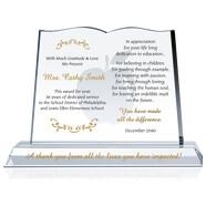 sample of plaque of appreciation
