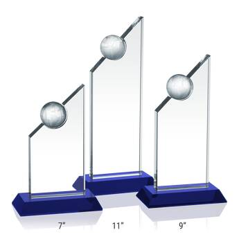Crystal Apex Award Plaques