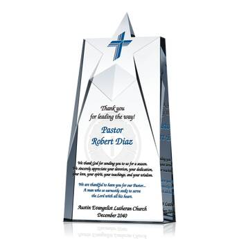 Ministry Service Appreciation Plaque (#252-2)