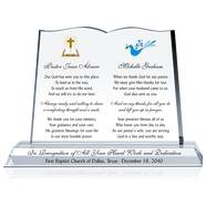 Pastor & Wife Gift Plaque