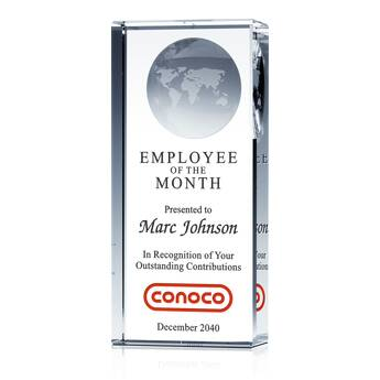 Award for Employee of the Month (#027-1)
