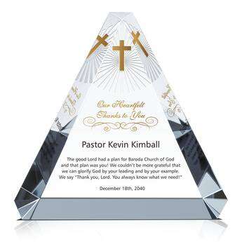 Heartfelt Thank You Gift Wording for Pastor (#297-5)