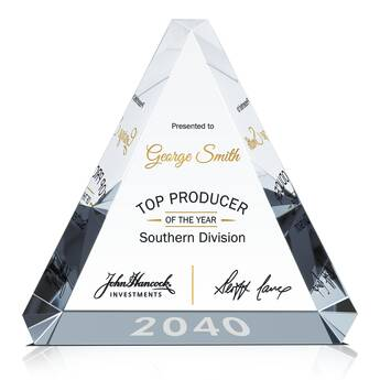Top Sales Award Plaque