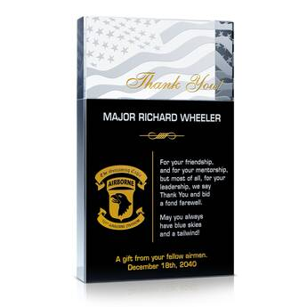 Thank You Airman! Plaques
