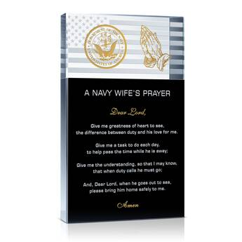 Navy Wife's Prayer  (#327-3)
