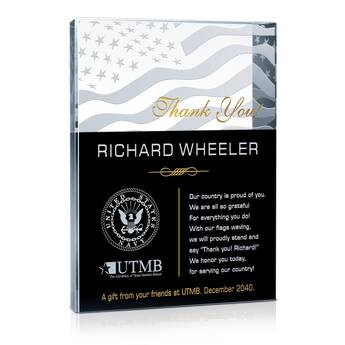 Thank You Sailor! Plaques