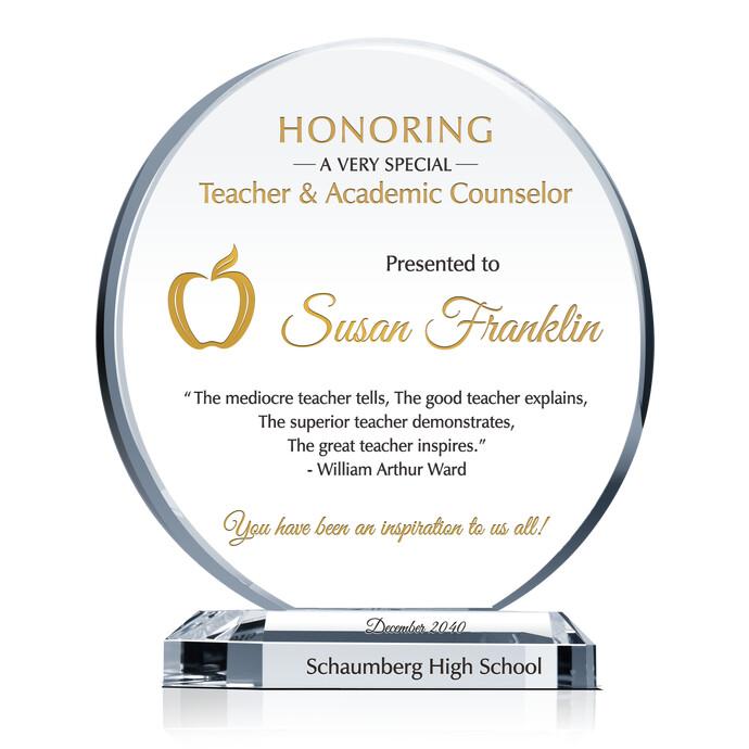 appreciation gift for teachers  educators and professors