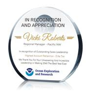Leadership Excellence Award Plaque