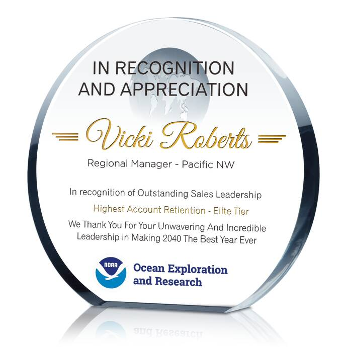 Leadership Awards  Excellence Award Wording