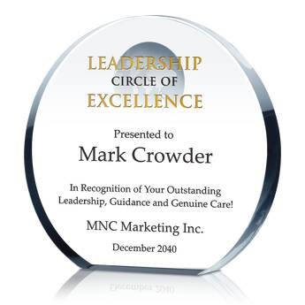 Environmental Leadership Award (#029-3)
