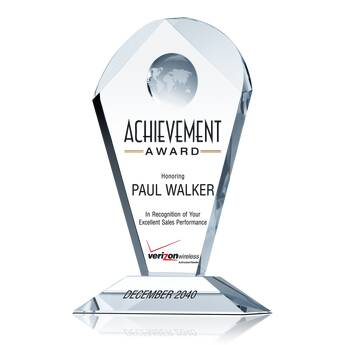 Sales Recognition Achievement Award (#062-3)