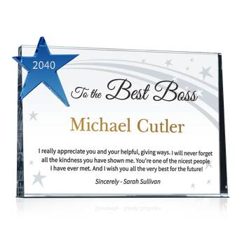 Sample Boss Recognition Quote (#458-2)