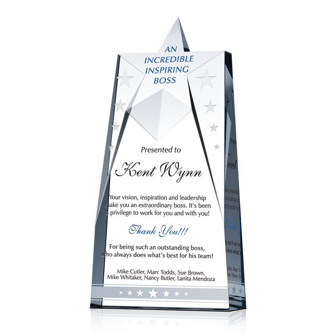 Star Boss Award | DIY Awards
