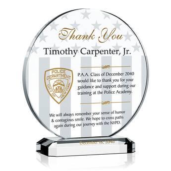 police academy instructor award   461