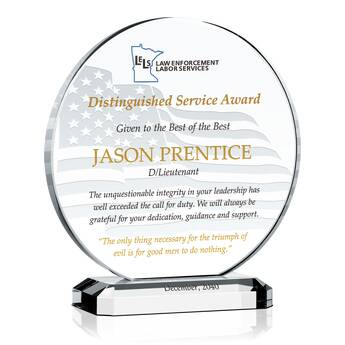 Life Saving Award for Police Officer (#461-3)