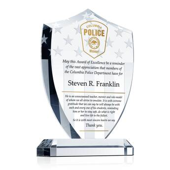 Police Officer Award of Excellence (#462-5)