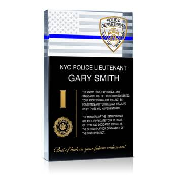 Police Retirement Gift For Dad 466 5 Wording Ideas