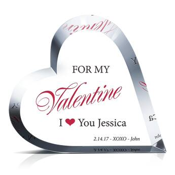 For My Valentine Crystal Gift (#507-3)