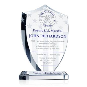 US Marshal Recognition Award (#510-3)