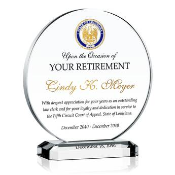 Court Clerk Retirement Award 508 4 Wording Ideas