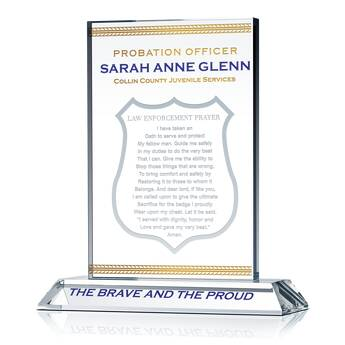 Law Enforcement Oath Plaque