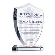 USCG Shield Recognition Plaque