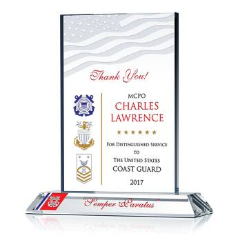 Thank You Coastie! Plaque (#488-2)