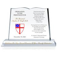 Episcopal Ordination Gift Plaques