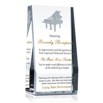 Music Teacher Retirement Gift Ideas 532 2 Wording Ideas Diy