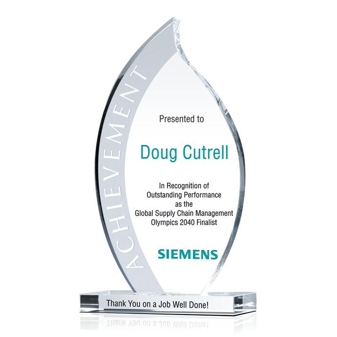 Flame Special Achievement Award – Achievement Award Wording