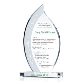 Milestone Achievement Award 059 4 Wording Ideas Diy