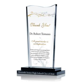 Thank You Teacher Gift Plaque