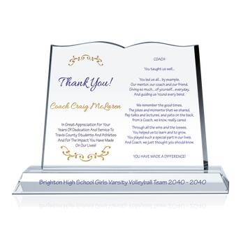 Coach Recognition Poems 538 2 Wording Ideas Diy Awards