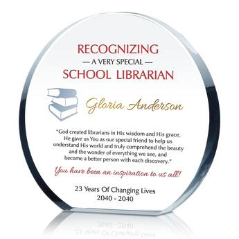 School Librarian Appreciation Quote (#539-3)